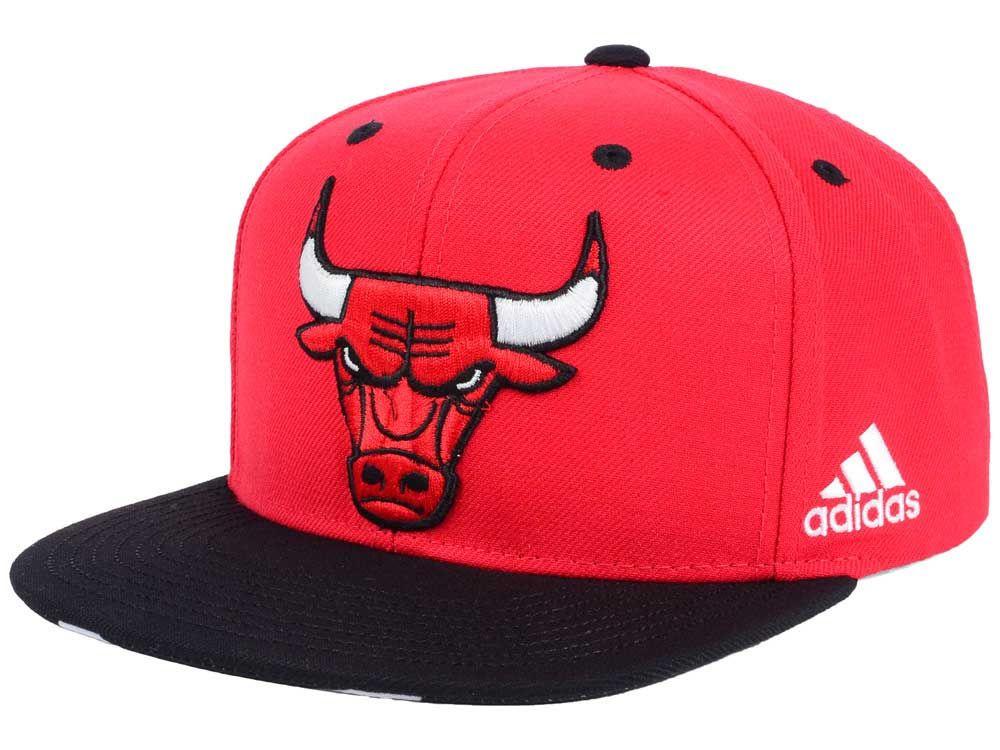 532a3fb327f Chicago Bulls adidas NBA Courtside Snapback Cap