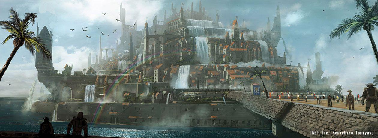 FFXI - Adoulin | Concept / Environments | Final fantasy xi