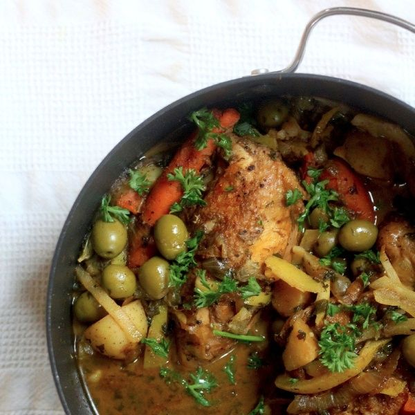 Moroccan tagine with chicken vegetables olives preserved lemons moroccan tagine with chicken vegetables olives preserved lemons and spices moroccan food recipesmoroccan forumfinder Images