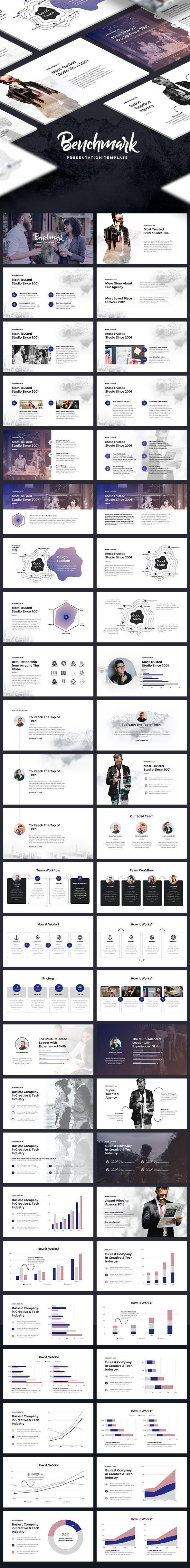 Benchmark - Modern Keynote Template   PowerPoint Keynote ...