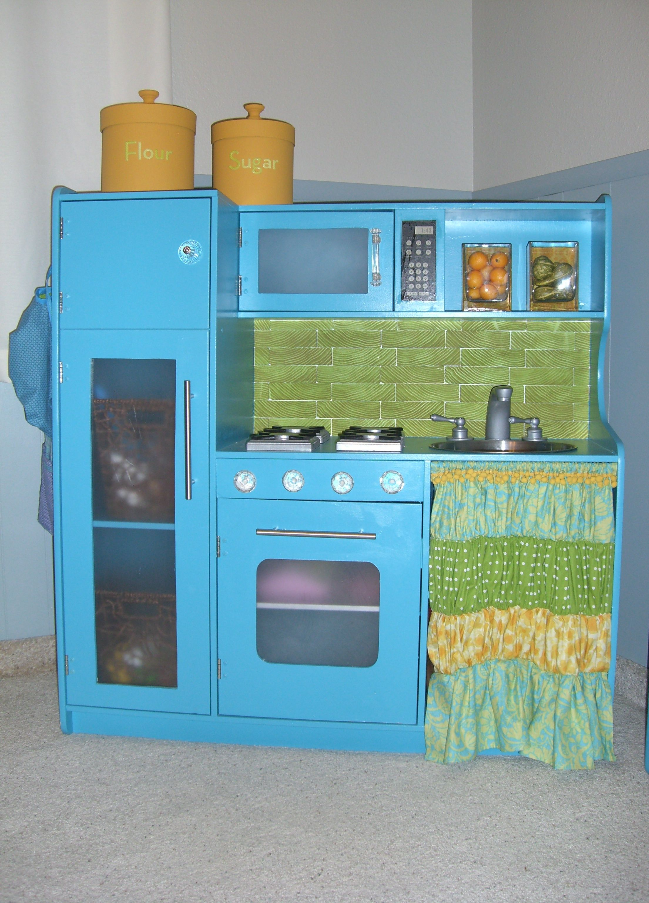 play kitchen | Playroom/ kids room | Pinterest | Plays, Kitchens and ...