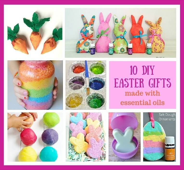 10 Diy Easter Basket Homemade Gifts Made With Essential Oils