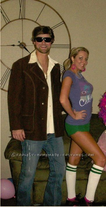 Coolest Rollergirl And Dirk Diggler Costumes From Boogie Nights   Boogie Nights And Costumes