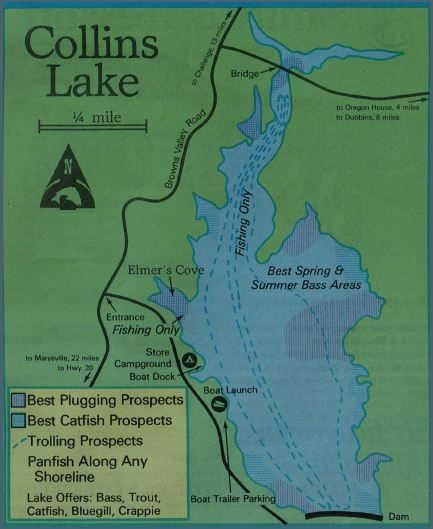 collins lake fishing map Collins Lake Fishing Map Reports Best Areas And Where To How To collins lake fishing map