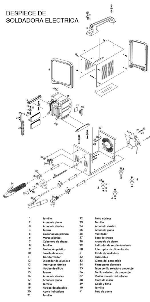 despiece-soldadora | Metal Mecánica | Pinterest | Welding, Metal y ...