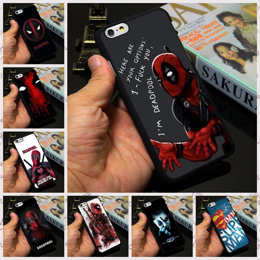 coque iphone 7 plus deadpool