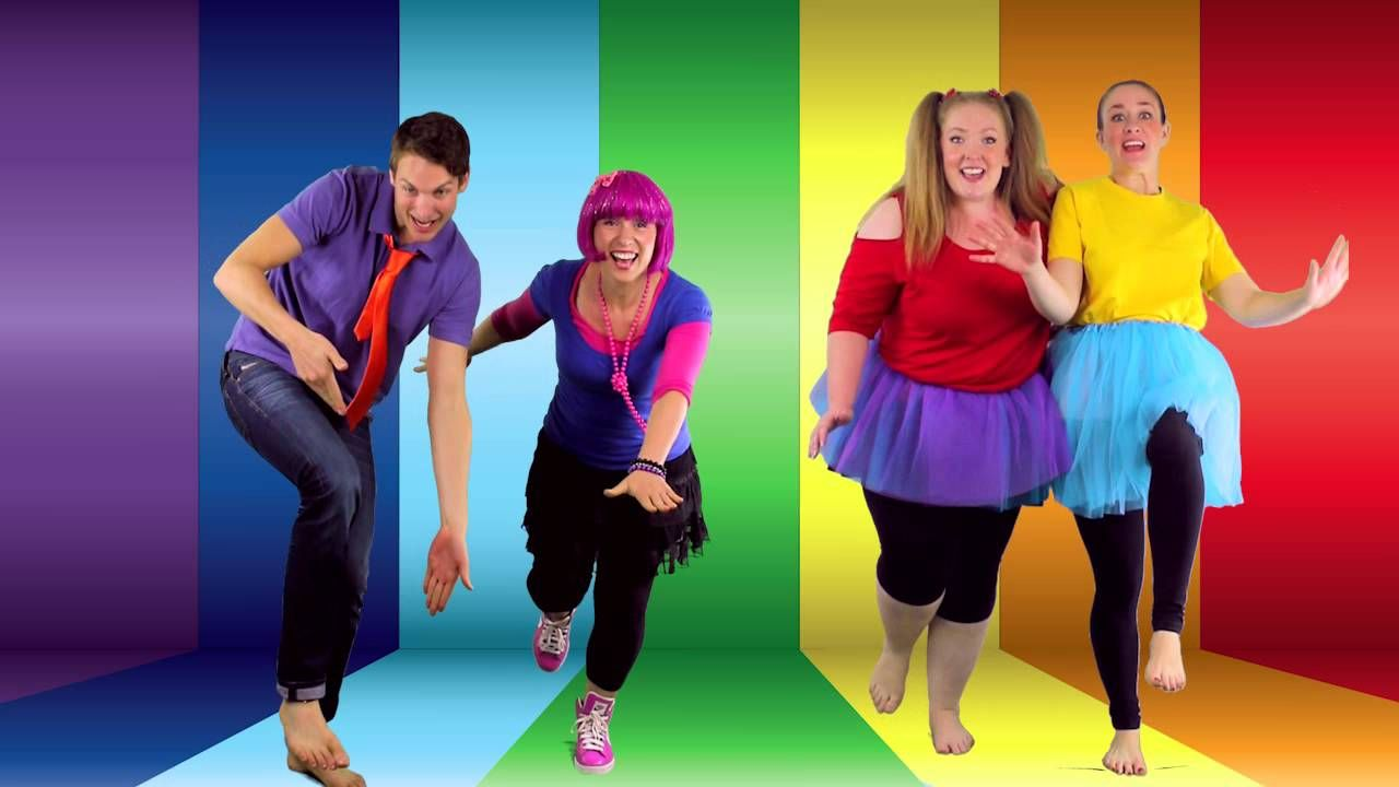 Resultado de imagen de Awesome Dance Song for Kids!! | Balance On One Foot | Featuring Bounce Patrol | By Debbie Doo