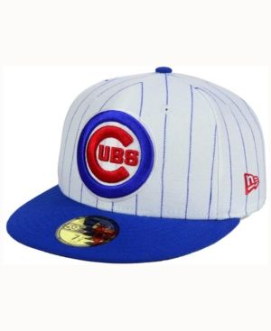 71f97bf0758 New Era Chicago Cubs Home Field 59FIFTY Fitted Cap - White 7 3 8 ...