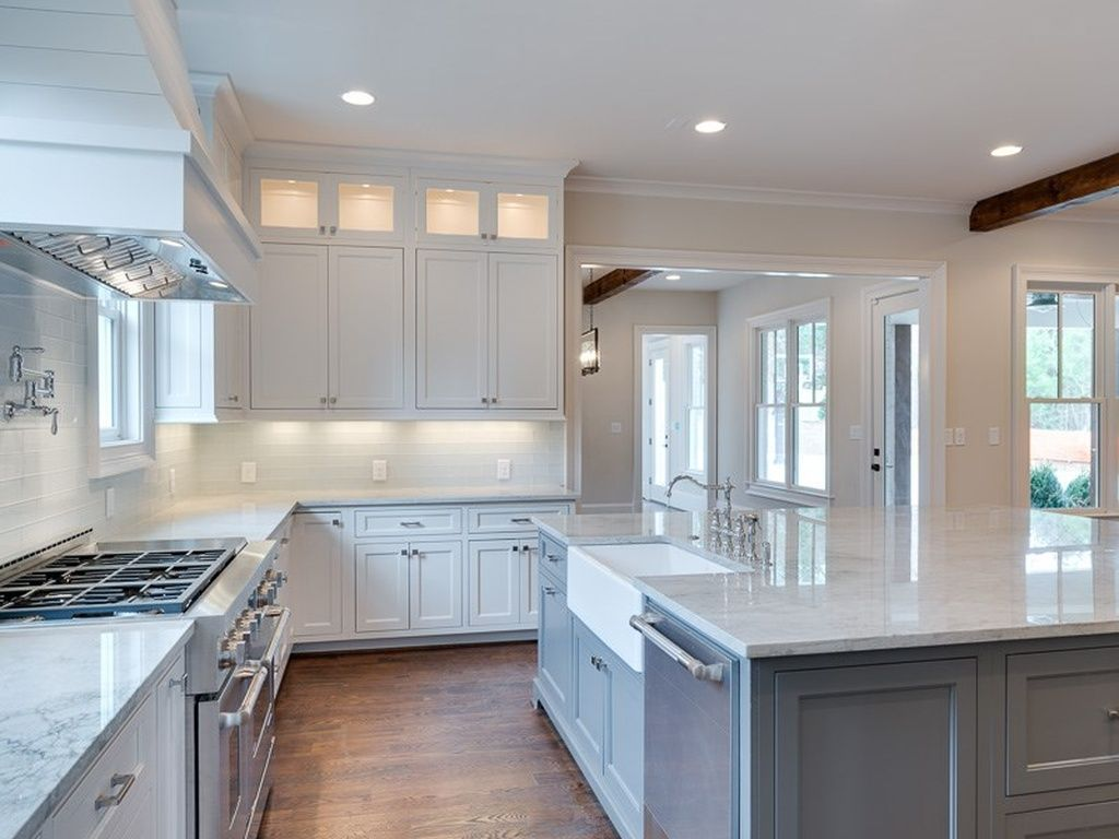 East Chastain Park Home For Sale White Kitchen Design White Modern Kitchen White Kitchen Remodeling