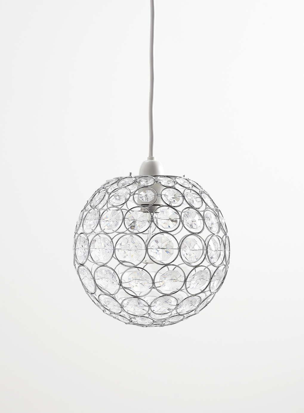 Photo 3 of Clear Luna Easy to Fit Ceiling Light | Home Ideas ...