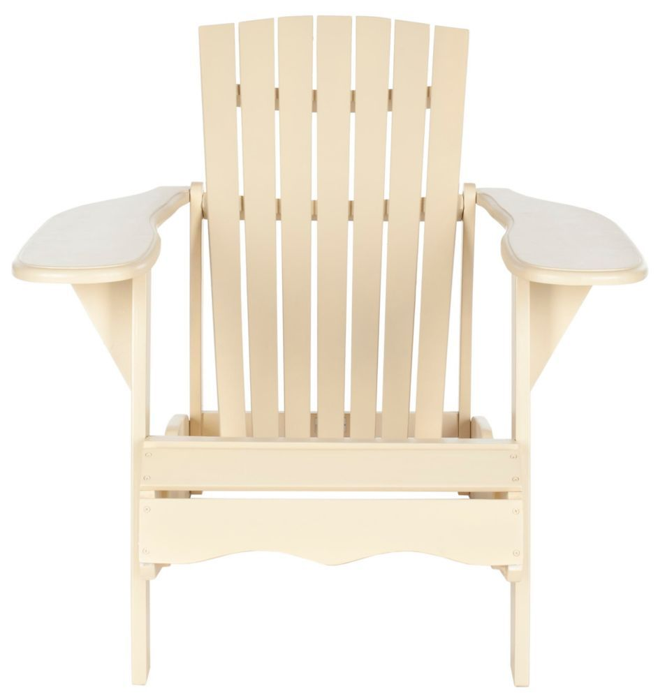 Mopani Patio Chair In Off White Outdoor Chairs Wood Adirondack