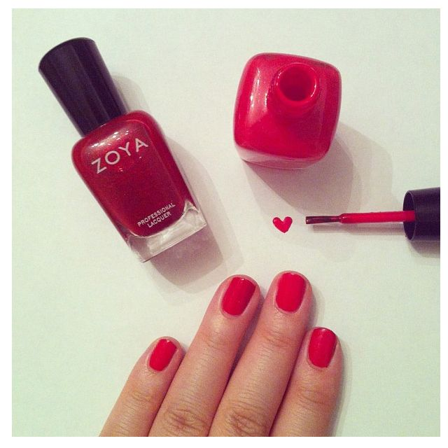 Lady in Red #zoya #thepinkdiary