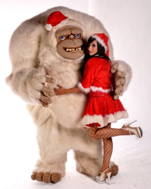christmas yeti - Google Search | Holida-ay! Celebra-ate! | Pinterest