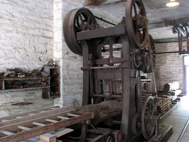 old saw mill   Mills   Lumber mill, Antique tools, Logging ...