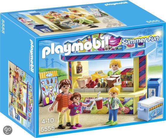 Playmobil kermis snoepkraam 5555 jens pinterest - Playmobil cuisine 5329 ...