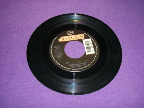 """John Cougar Mellencamp Get A Leg Up (Family) / Whenever We Wanted / 7"""" Vinyl 45 RPM Jukebox Record"""