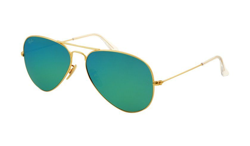 2f75cafd49bf Chameleon-inspired Ray-Ban RB3025 Aviator ™ Large Metal Sunglasses.