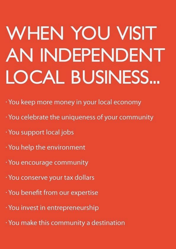 Support Small Business Saturday. Repost, but it's important to