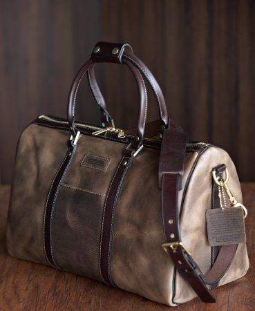 Coronado Leather Cxl 5 Duffle Made In Usa San Go Just Before Going Over The Bridge To Island I Bought A Purse When Was There And