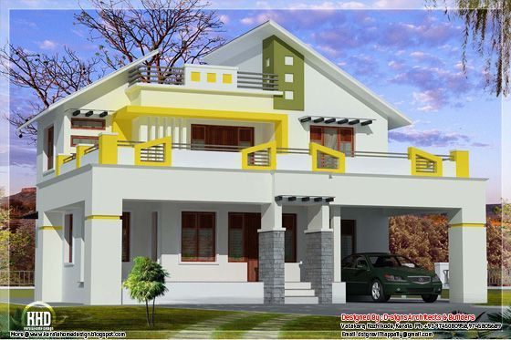 parapet wall designs - Google Search | House Elevation Indian ...