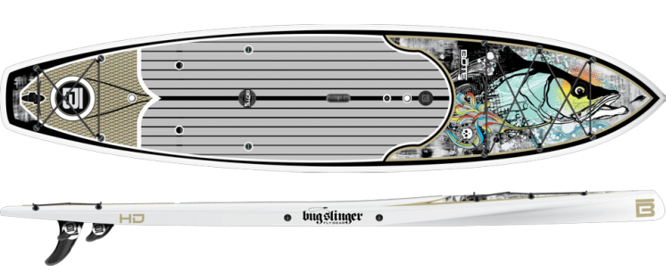 Bote Hd Bugslinger Special Edition Fishing Paddle Board Paddle Boarding Standup Paddle Paddle Board Fishing