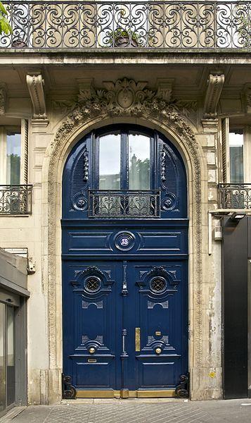 Porte 35 boulevard Saint-Michel Paris