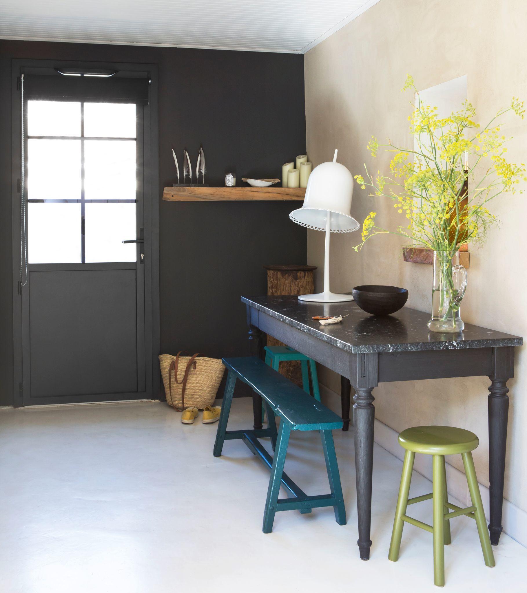 Idee Peinture Salon Cuisine peinture couleur salle de bain, chambre, cuisine