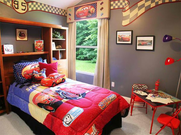 Zoom with Style in 20 Car Themed Bedroom for Your Boys | Car ...