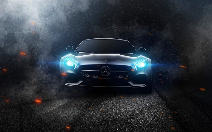 download wallpapers darkness mercedes amg gt headlights 2017 cars supercars amg mercedes besthqwallpapers com mercedes wallpaper mercedes amg benz car mercedes wallpaper mercedes amg