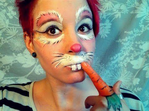 Rabbit Makeup Tutorial - YouTube