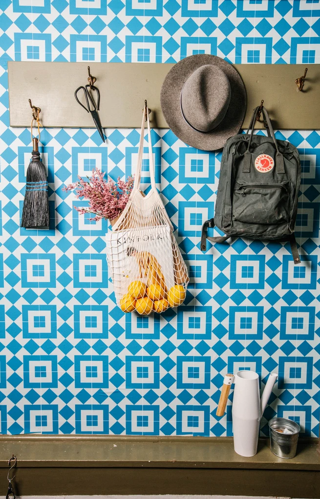 Italian Tile Chasing Paper Chasing Paper Italian Tiles Renter Friendly Wallpaper