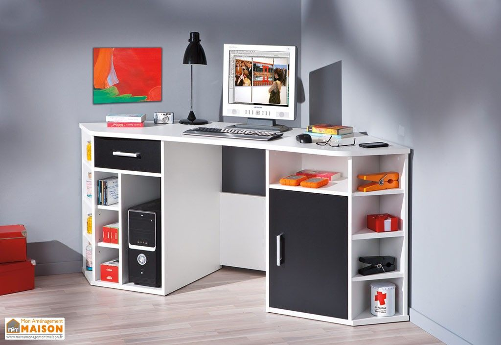 Charmant bureau moderne ado superior amenagement chambre fille