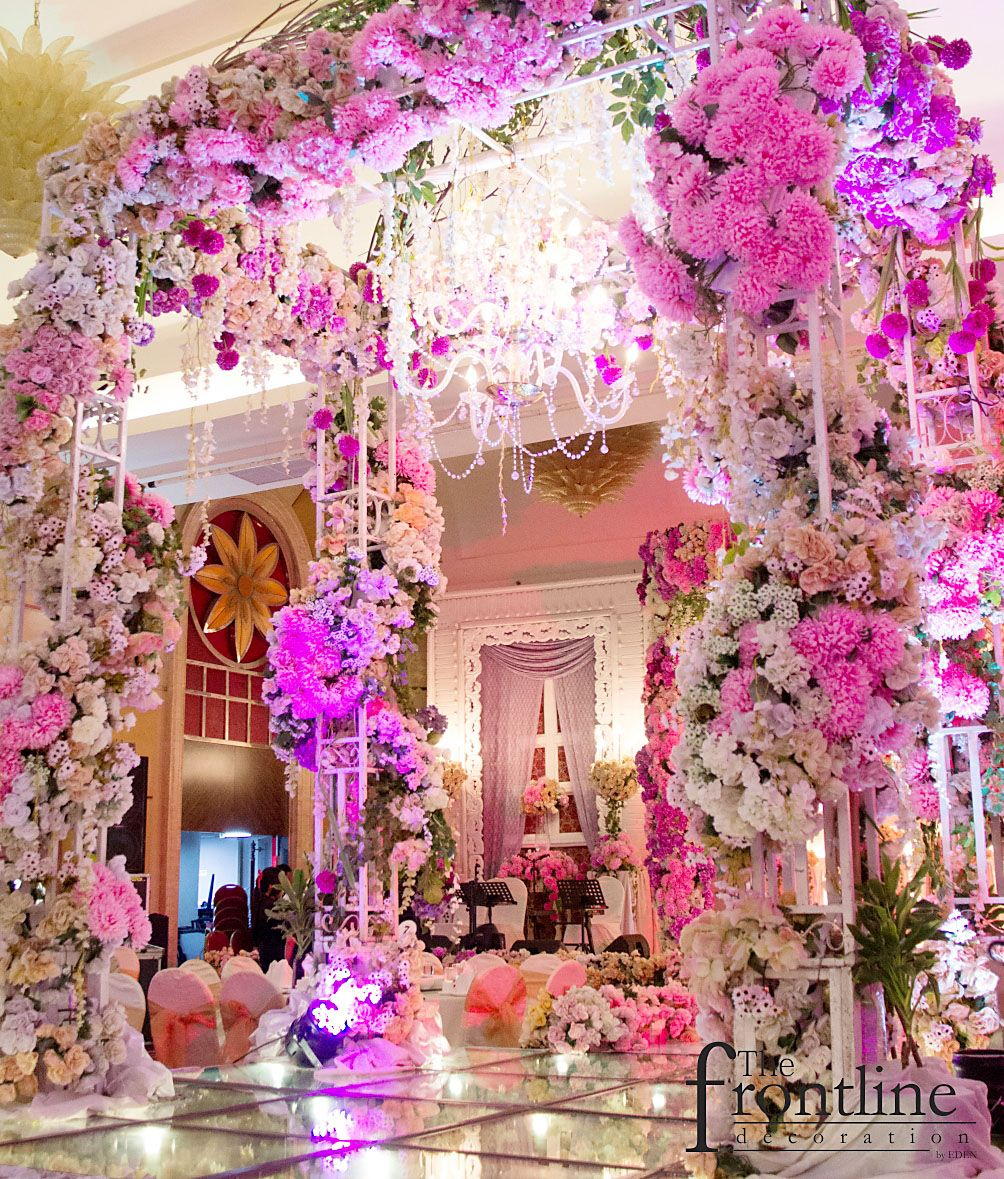 The wedding of Michael - Melly @Pullman Surabaya. Decorated by Eden ...