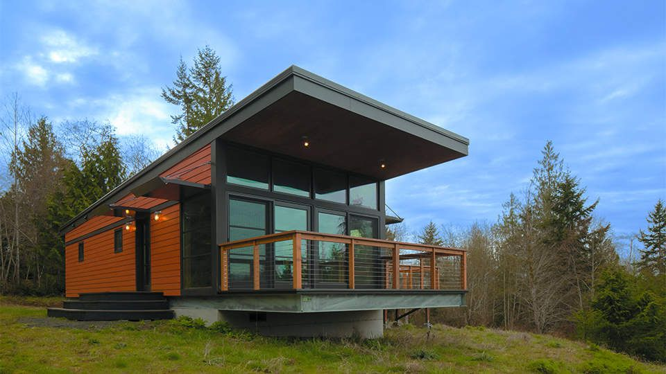 25 Gorgeous Prefab Houses And The Cheapest Land In Every State To Put Them On Modern Modular Homes Prefab Modular Homes Modern Prefab Homes