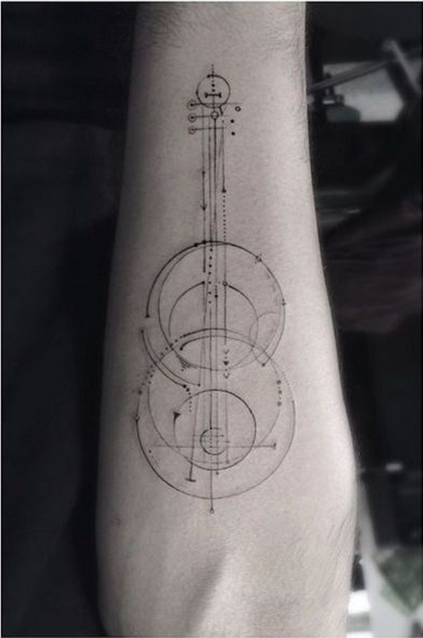 50 Music Tattoo Designs For Men And Women Tattoos