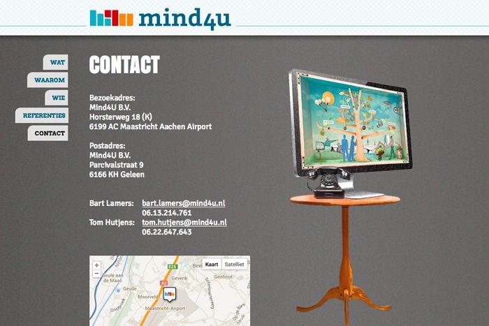 Mind4U // Design by Bomkracht
