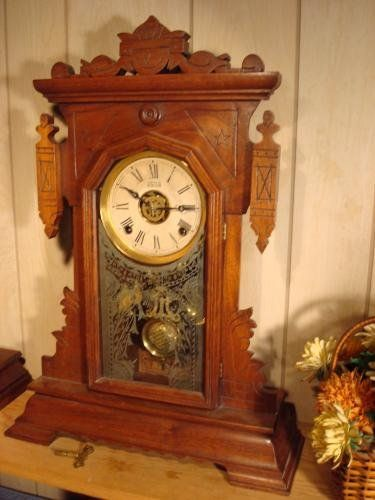 The Farren Mantle Clock By The Terry Clock Company Love