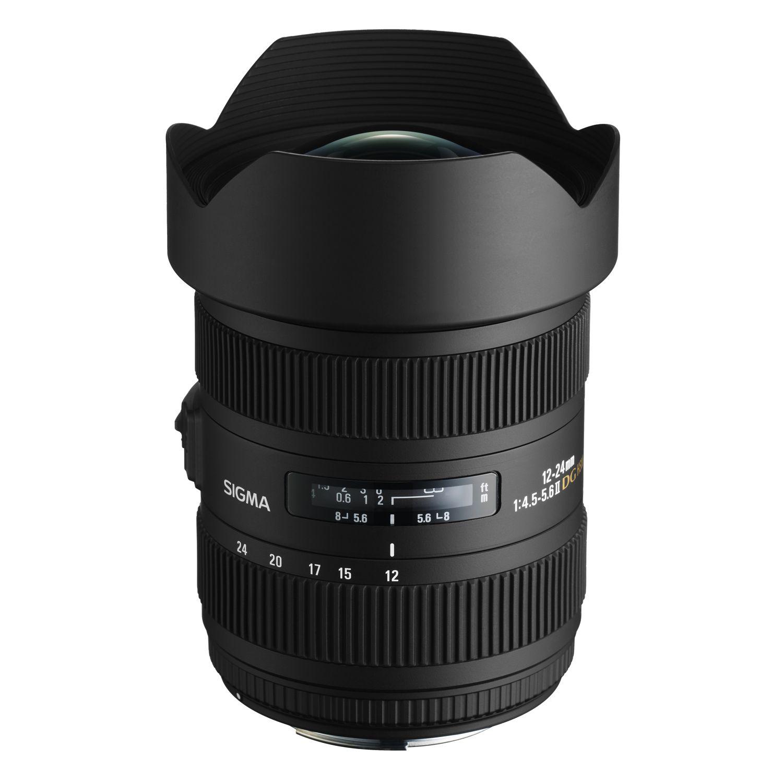12 24mm F4 5 5 6 Dg Hsm Ii Dslr Lenses Nikon Digital Slr Digital Camera Accessories