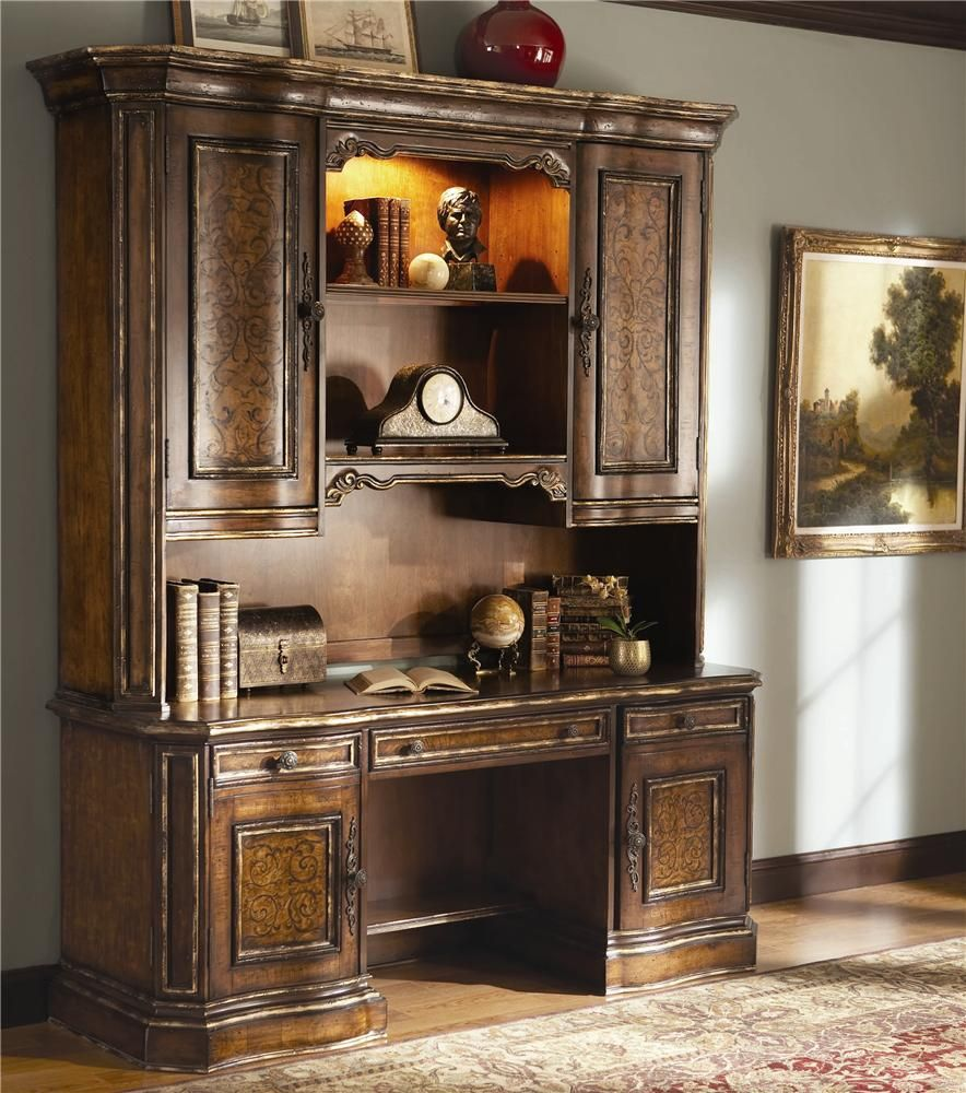 Beladora Credenza U0026 Hutch Office Unit By Hooker Furniture
