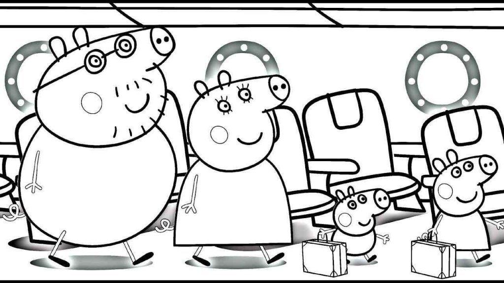 Peppa Pig E Familia Em Viagem Em 2020 Com Imagens Peppa Pig
