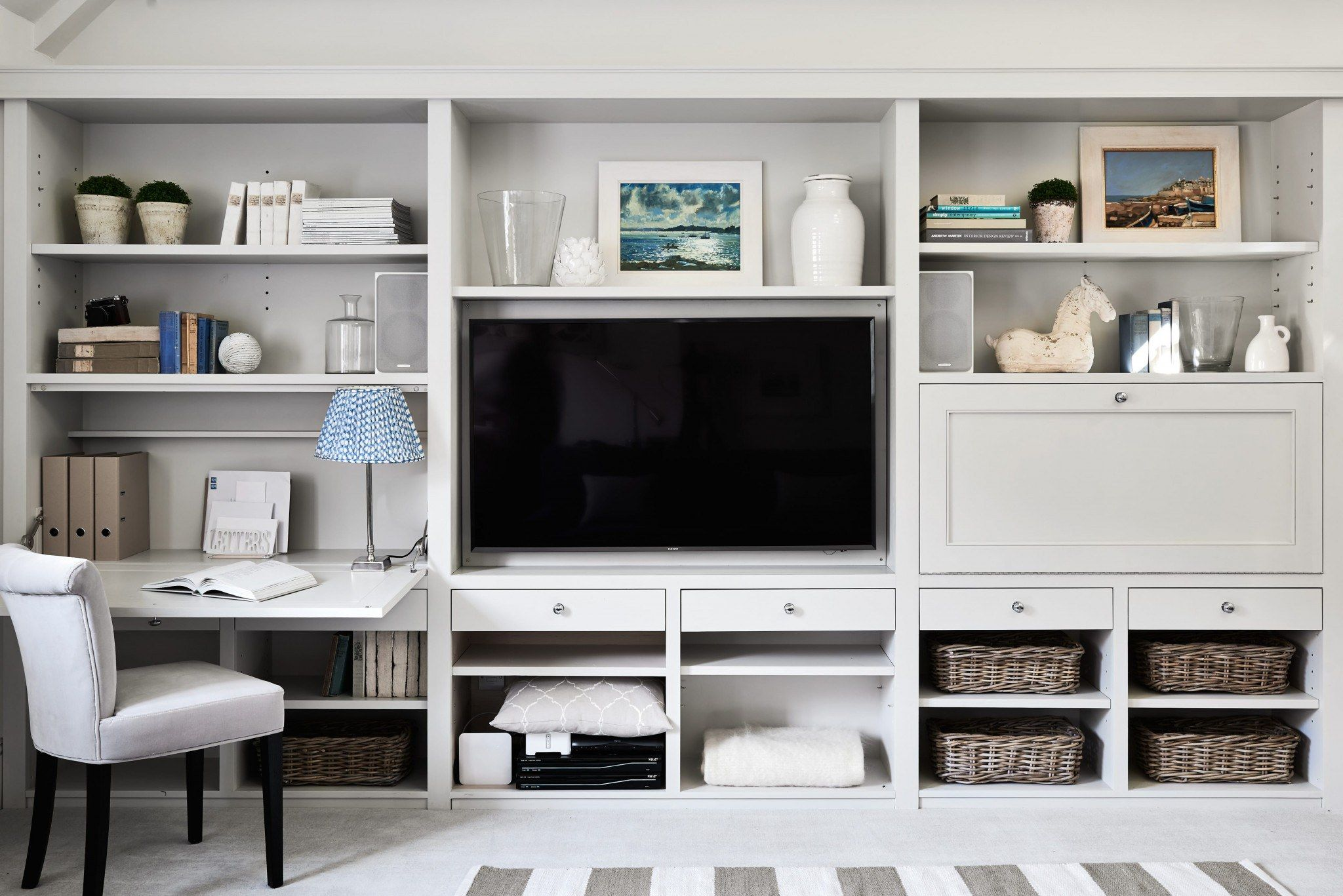 Built Ins And Workspace Living Room Wall Units Living Room Built Ins Bedroom Wall Units