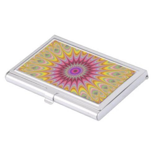 Mandala Hypnosis Business Card Holder 2205 Hypnotic Oriental