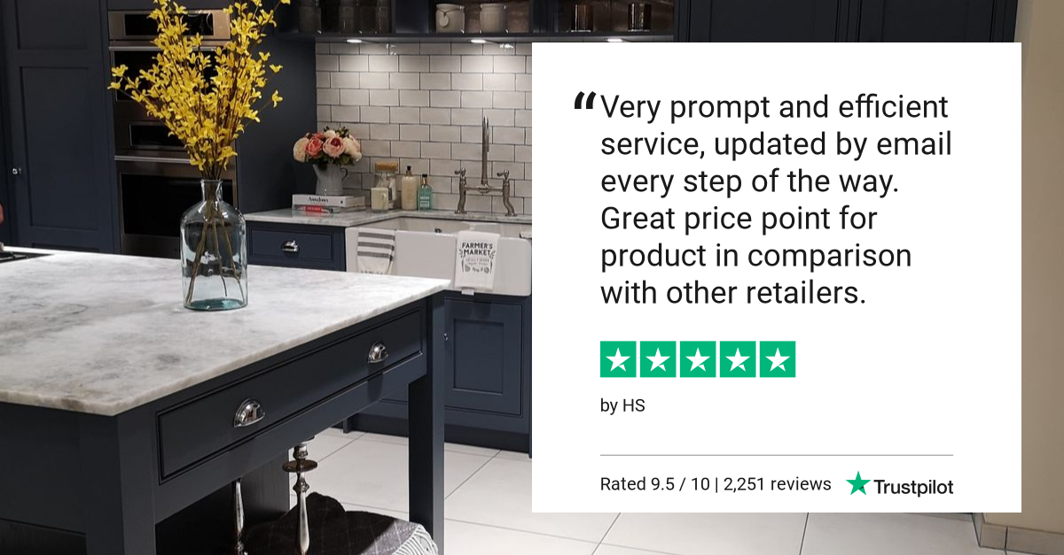 Another 5 star review from one of our customers. We have