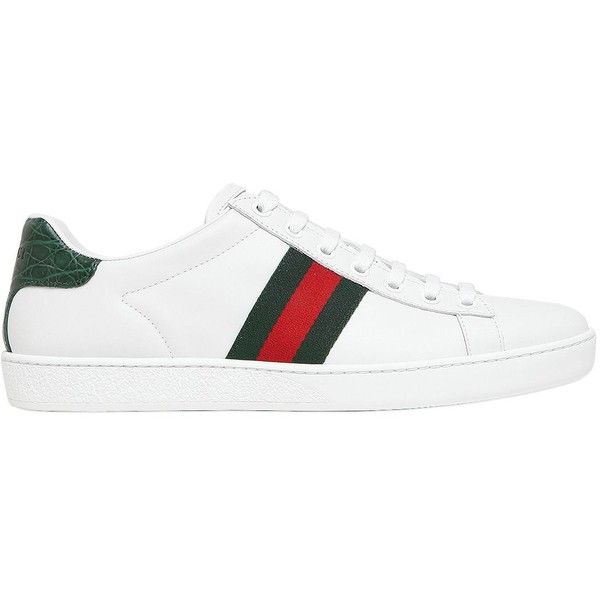 Pre-owned - Crocodile low trainers Gucci wO2pDocHOM