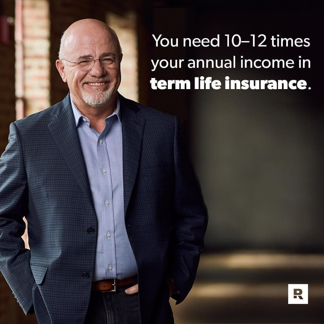 Dave ramsey on instagram whole life insurance is what