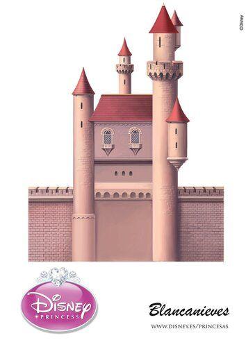 Шаблоны замков принцесс Диснея. Обсуждение на LiveInternet ...