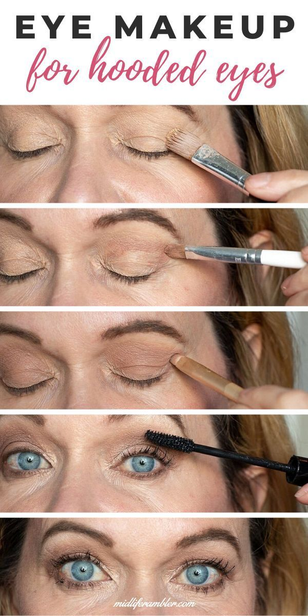 How to Master Your Eye Makeup for Hooded Eyes in 2020
