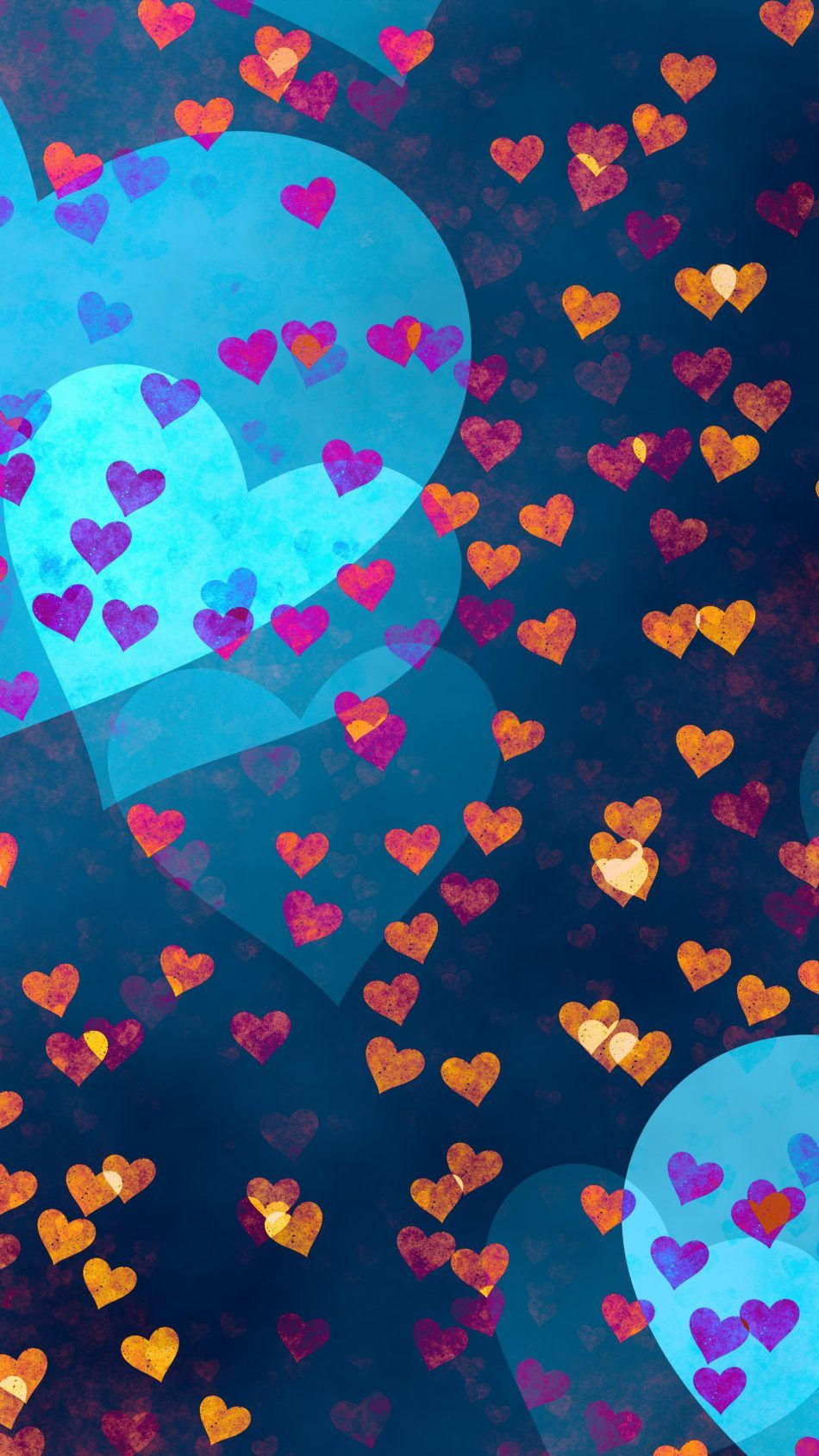 Love Hearts Pattern Hd Wallpaper Pattern Wallpaper Hd Cool