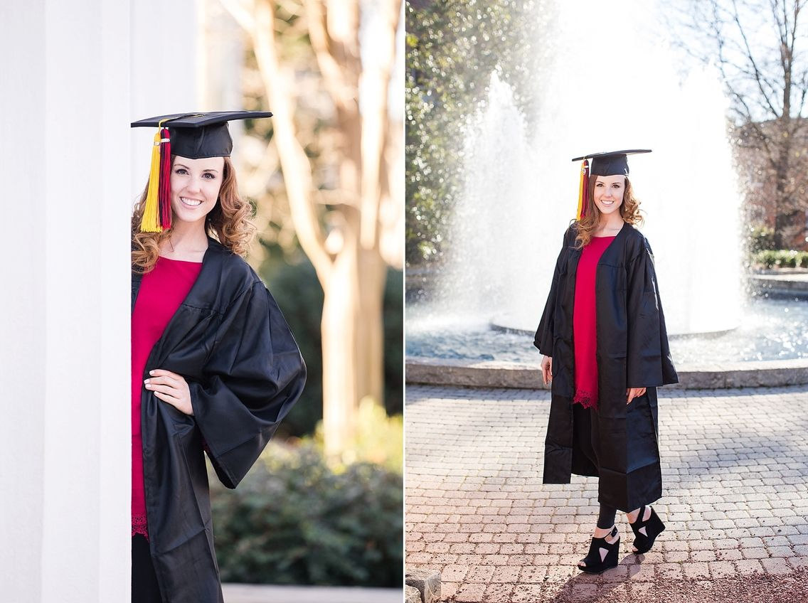 Julias uga graduation photos athens senior
