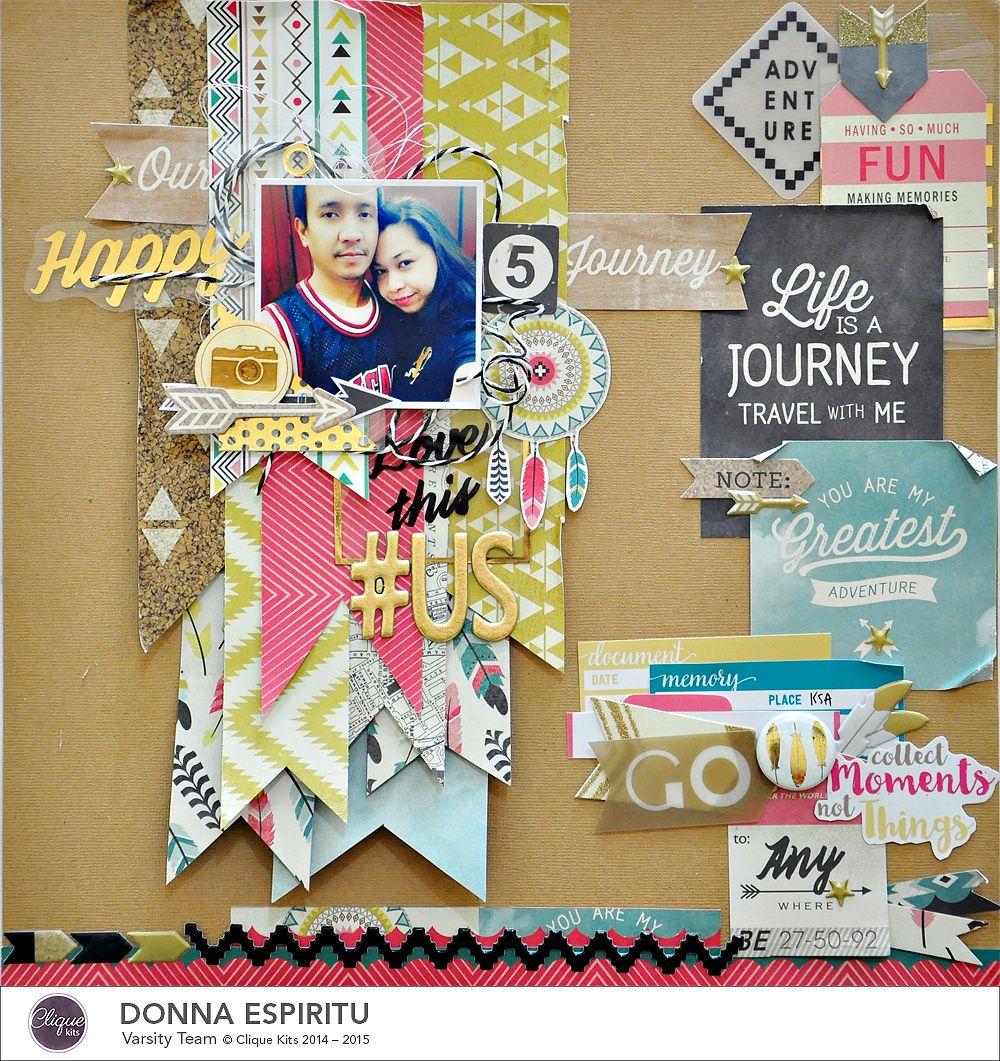 Journey scrapbook ideas - Our Happy Journey Scrapbook Com